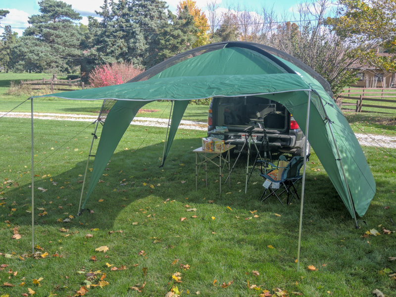 Cottonwood XLT Shade Shelter by PahaQue review | Doug Bardwell