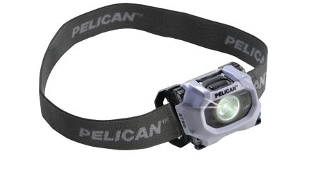 Pelican 2750 Head Lamp blazes through the dark
