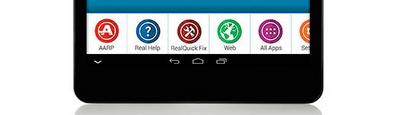 AARP help icons