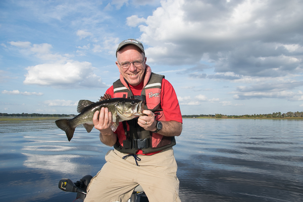 Fishing and birding on Lake Toho