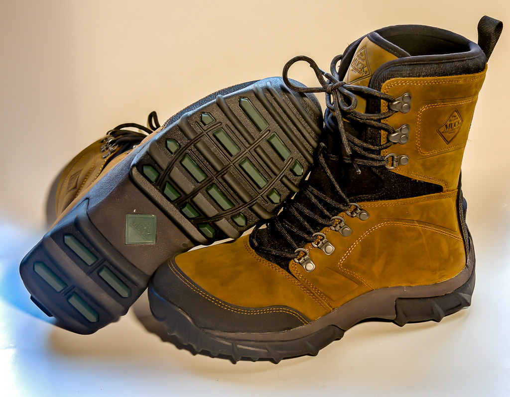 Muck Peak Hardcore Boots laugh at cold, wet weather | Doug Bardwell