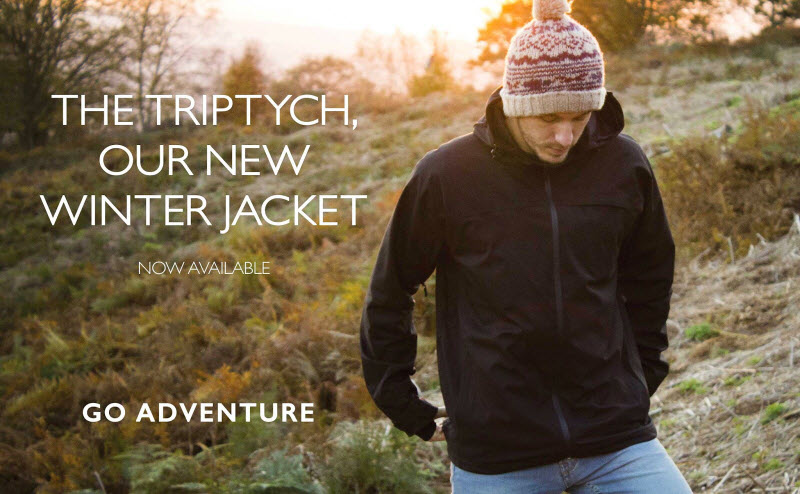 Stuffa Triptych is a versatile 3-in-1 jacket system