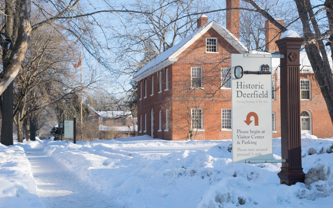 Historic Deerfield – then and now