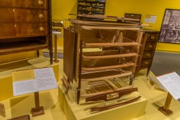 Flynt Center of Early New England Life dresser construction details