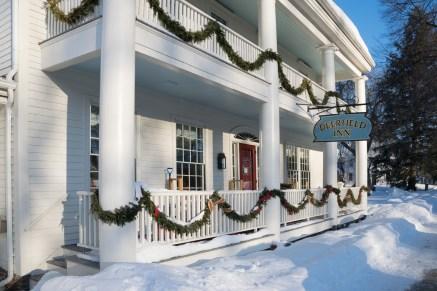 Deerfield Inn in winter