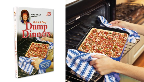 Dump Dinners recipe book by Cathy Mitchel