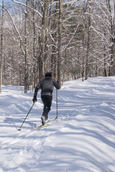 Nordic skiing at Grafton Ponds Outdoor Center