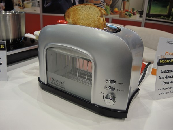 SuperHuman Automatic See-Through Toaster