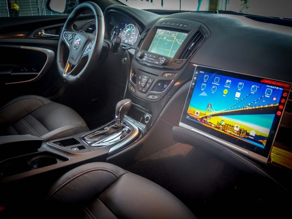 Lenovo Yoga Tablet 2 Pro in 2015 Buick Regal GS