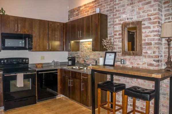 Music City Lofts kitchen