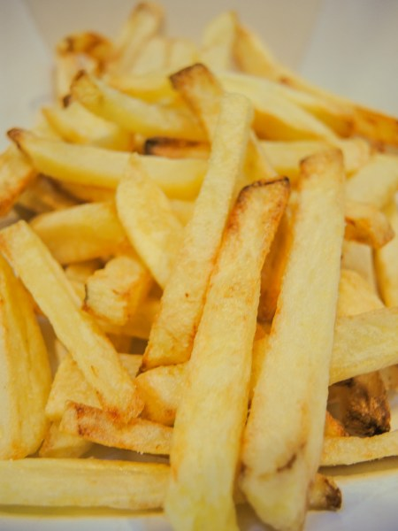 French fries made in the Philips Airfryer XL