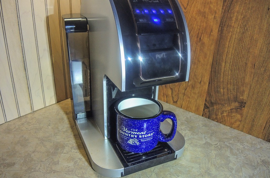 Touch T414S – the hottest new single-serve coffee brewer