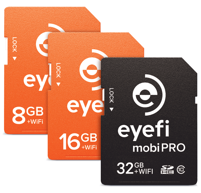 The EYE-Fi advantage – upload your photos without trying