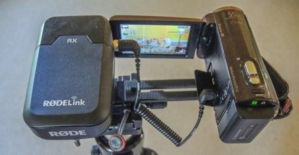 RODELink Filmmaker Kit with Sony Camcorder