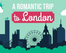 Taking a romantic trip to London (infographic)
