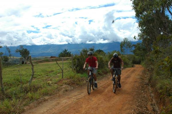 Colombia mountain biking