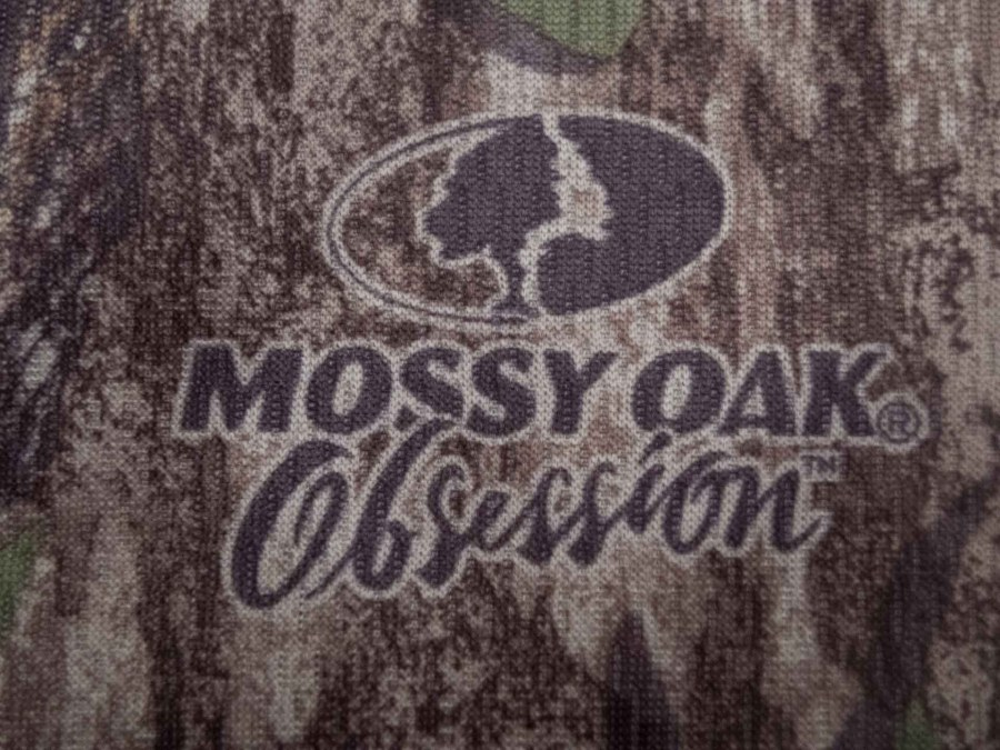 Mossy Oak long sleeve tee is available in the Obsession pattern