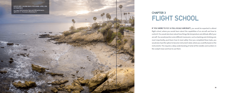 How to fly according to The Photographers Guide to Drones