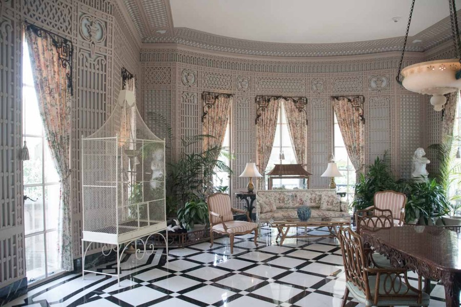 nteriors at Nemours Mansion and Estate