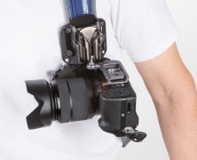 SpiderLight Backpacker Kit safely supports your camera but keeps it close at hand