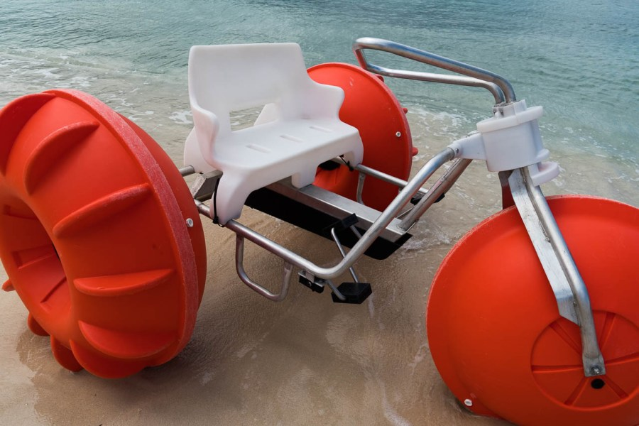 Water tricycle at Jamaica Grande