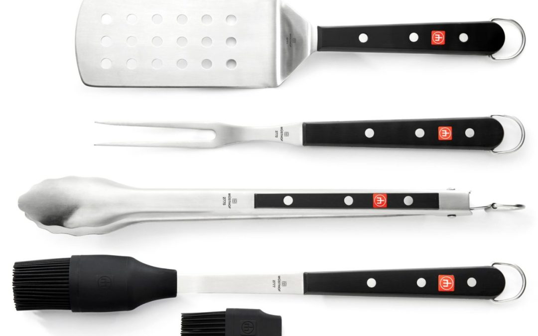 WÜSTHOF's Four-Piece BBQ Set raises the bar for BBQ