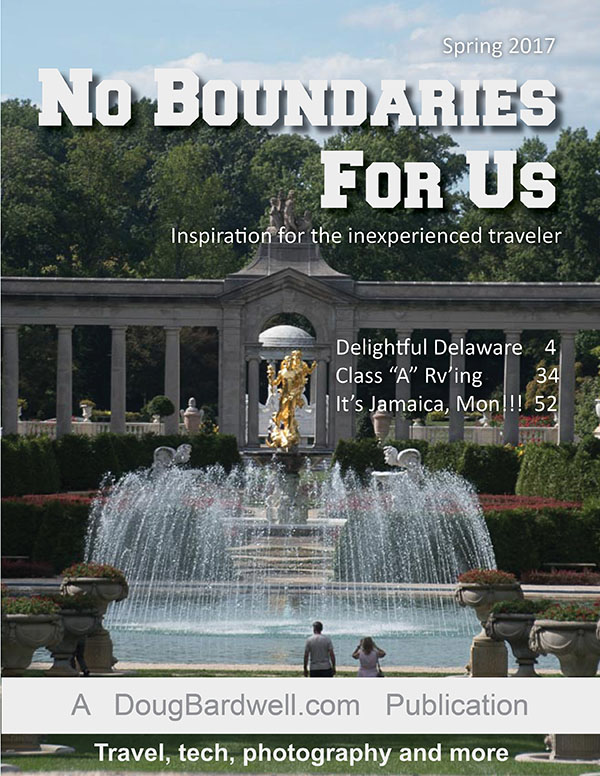 No Boundaries For Us - Fall 2016 issue