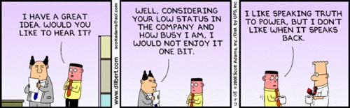 Dilbert on learner voice?