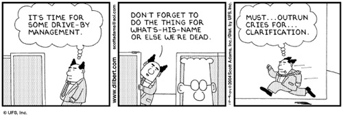 Everything that's wrong with educational management, summed up in 3 Dilbert  cartoons. | Open Thinkering