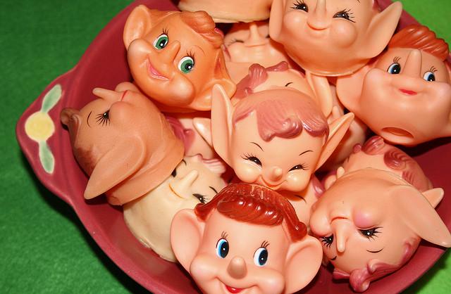 Gnome heads