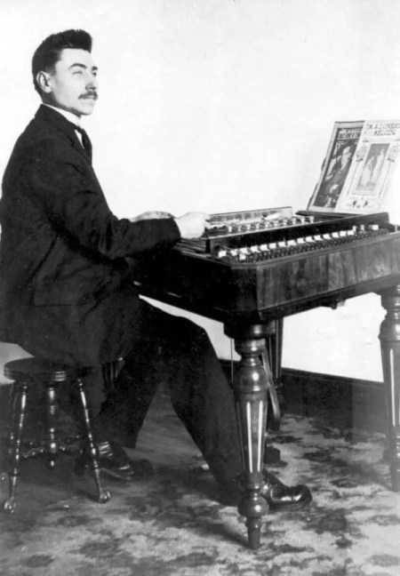 Music I'd Like To Hear #38 - Vintage photograph of a cimbalom player