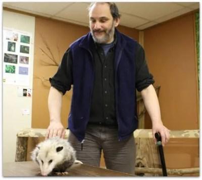 Doug Berch and Twinkie D. Possum