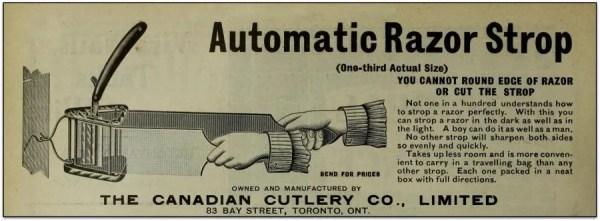 Automatic Razor Strop