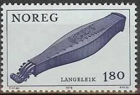 Langeleik postage stamp