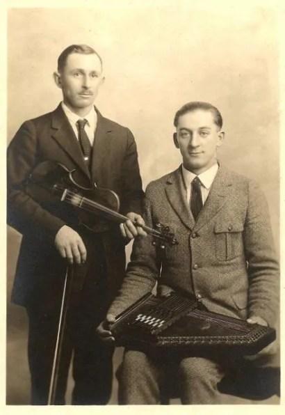 Violin and autoharp duo
