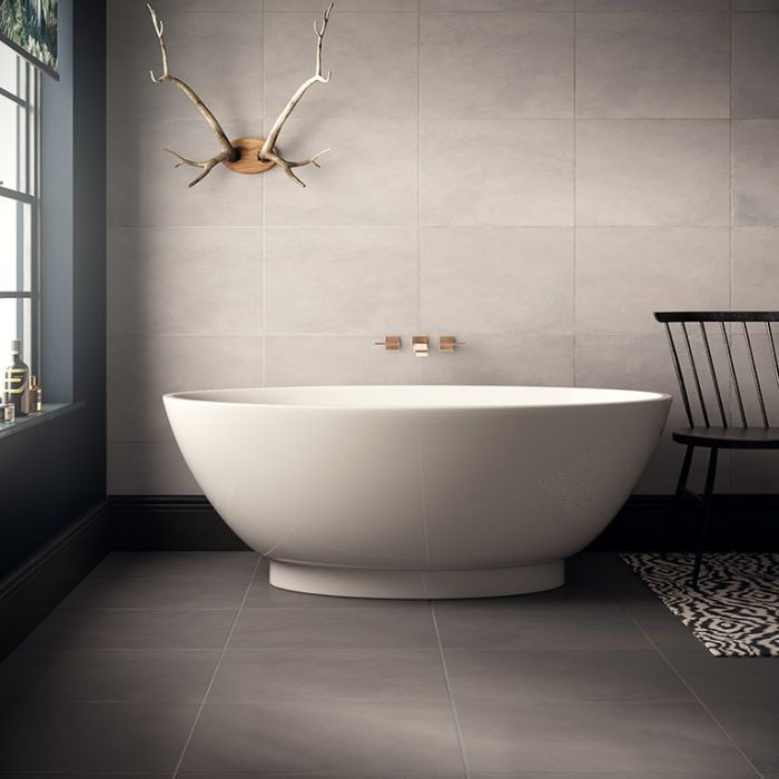 Soak in style with a luxury freestanding bath. Image source: Verona Group.