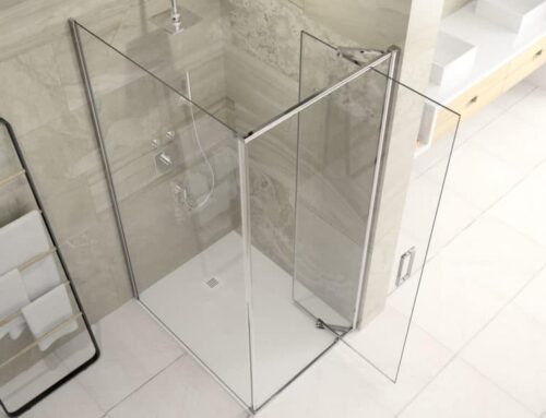 The Space Saving Shower Door Infold Arysto by Merlyn