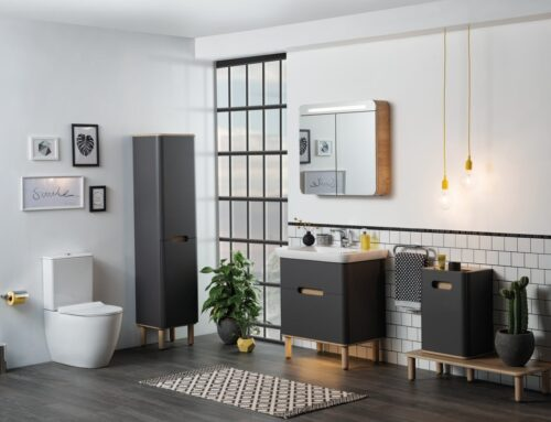 Vitra Sento Bathroom range on display at our Leeds Showroom