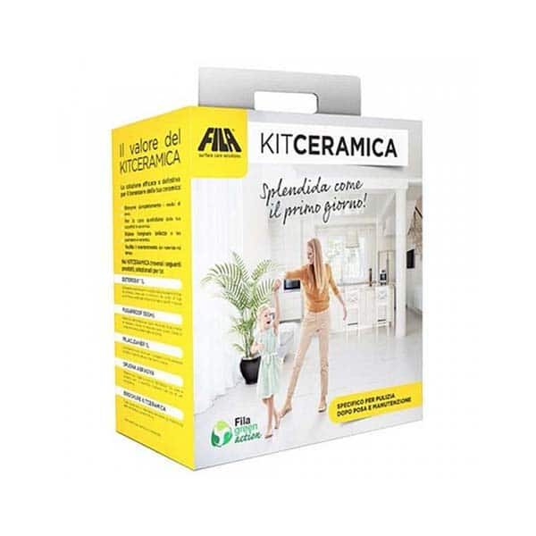 Fila Specific kit for initial cleaning and maintenance of ceramic and porcelain tiles  - 65000015
