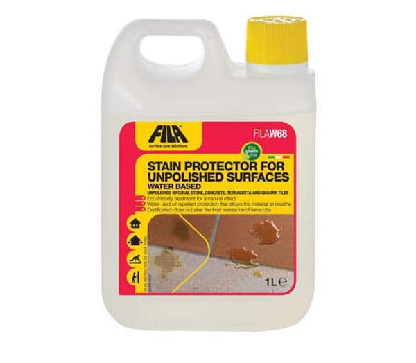 Stain protector for unpolished surfaces 1 Litre 70100012