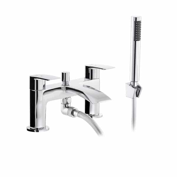 Abode Loop Bath Shower Mixer no waste AB2663