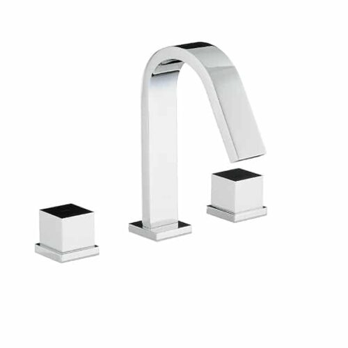 Abode Zeal Thermostatic 3 Hole Bath Filler AB3008