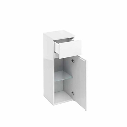 AD32W Britton 1 Door Base Unit & Drawer White