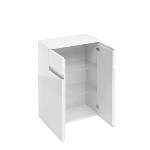 AD33W Britton 2 Door Base Unit White
