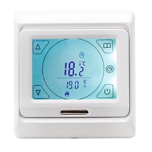 A500500 Touch Underfloor Heating Thermostat Control White