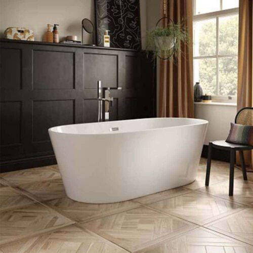 COM17 The White Space Como Freestanding Bath White