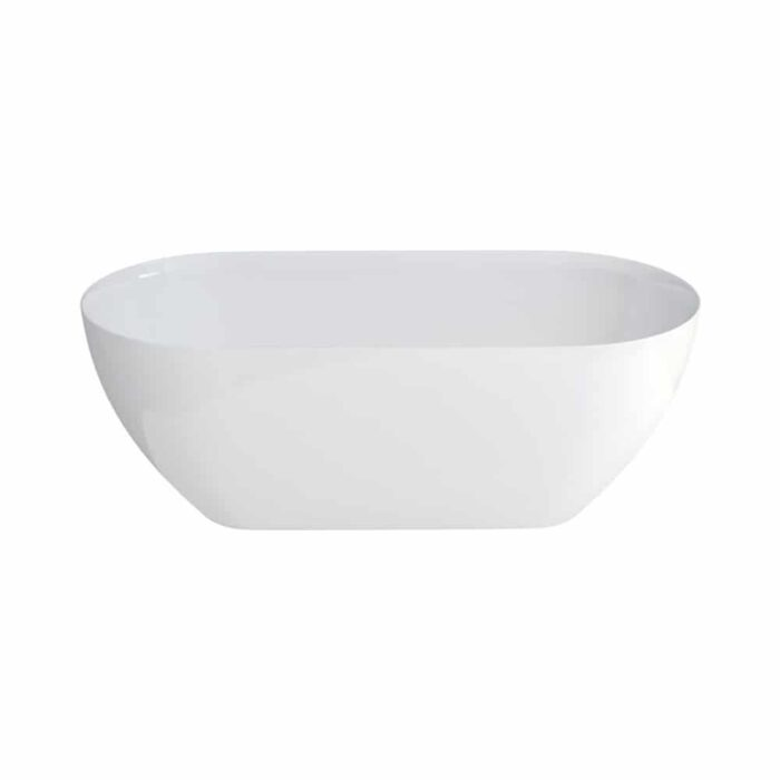 N1ACS+CW13 Clearwater Formoso Petite Clear Stone Freestanding Bath White_2