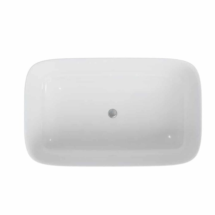 N26CS Clearwater Duo Natural Stone Freestanding Bath White_3