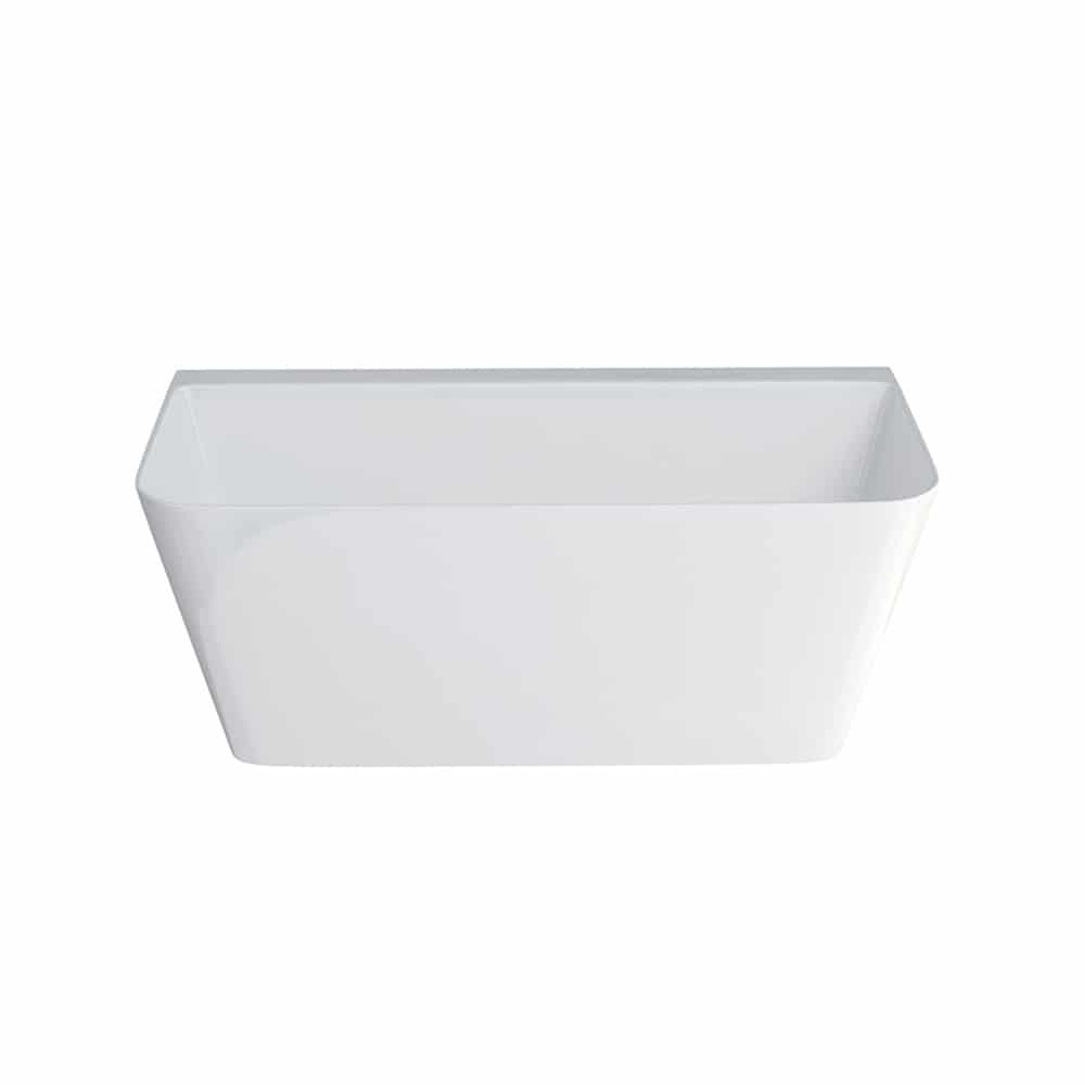 N3ACS+CW13 Clearwater Patinato Petite Clear Stone Freestanding Bath White_2