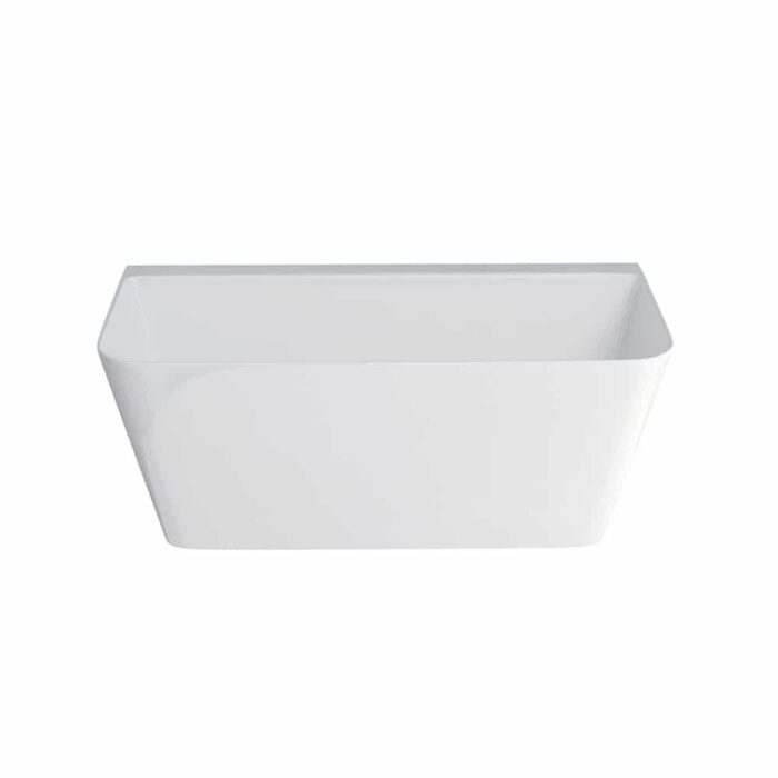 N3BCS+CW13 Clearwater Patinato Grande Clear Stone Freestanding Bath White_2